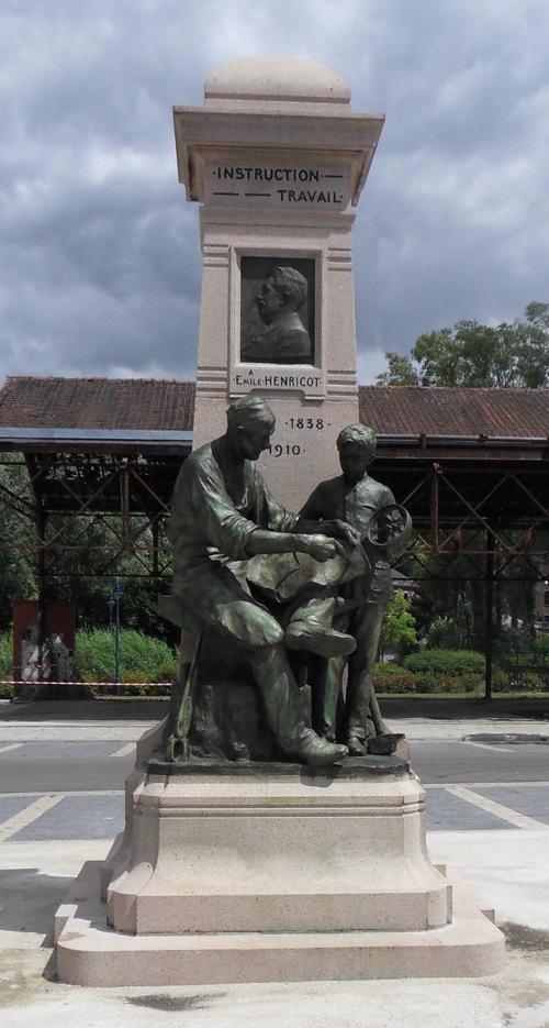 Monument Émile Henricot restauré